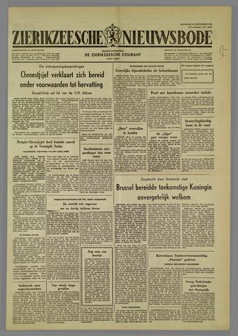 Zierikzeesche Nieuwsbode 1960-09-26