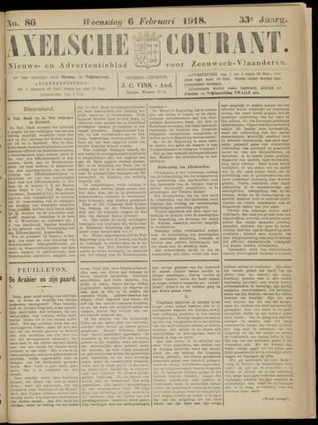 Axelsche Courant 1918-02-06