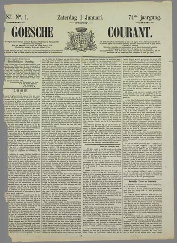 Goessche Courant 1887