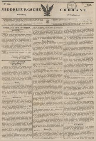 Middelburgsche Courant 1843-09-28