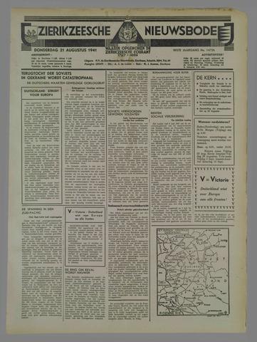 Zierikzeesche Nieuwsbode 1941-08-22