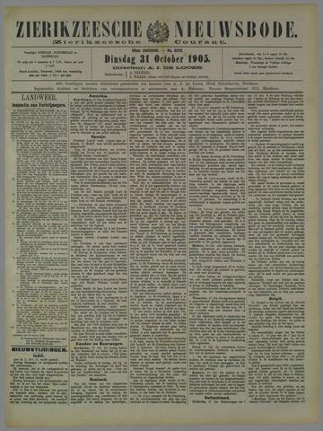 Zierikzeesche Nieuwsbode 1905-10-31