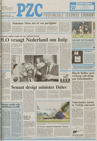 Provinciale Zeeuwse Courant 1993-10-21