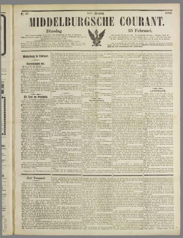 Middelburgsche Courant 1908-02-25