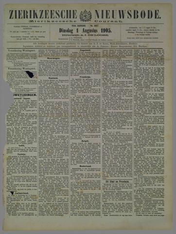 Zierikzeesche Nieuwsbode 1905-08-01