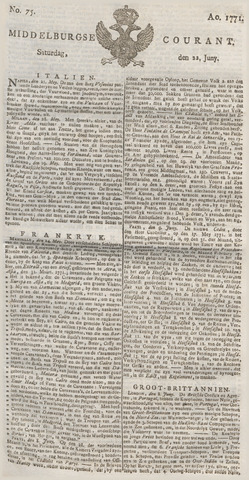 Middelburgsche Courant 1771-06-22