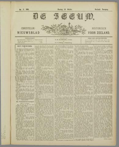 De Zeeuw. Christelijk-historisch nieuwsblad voor Zeeland 1898-10-18