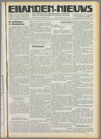 Eilanden-nieuws. Christelijk streekblad op gereformeerde grondslag 1949-02-26