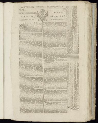Middelburgsche Courant 1801-07-11