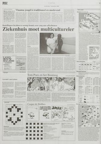 Provinciale Zeeuwse Courant 7 December 2000 Pagina 4
