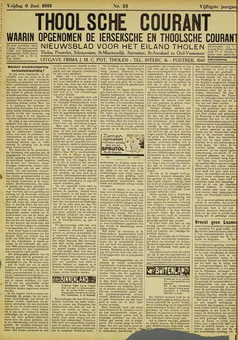 Ierseksche en Thoolsche Courant 1933-06-09
