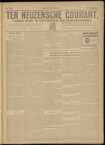 Ter Neuzensche Courant. Algemeen Nieuws- en Advertentieblad voor Zeeuwsch-Vlaanderen / Neuzensche Courant ... (idem) / (Algemeen) nieuws en advertentieblad voor Zeeuwsch-Vlaanderen 1933-05-26