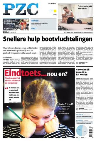 Provinciale Zeeuwse Courant 2015-04-21