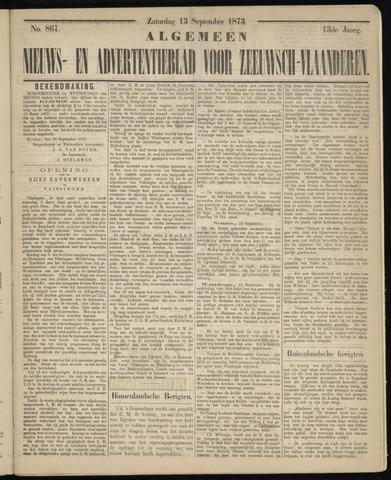 Ter Neuzensche Courant. Algemeen Nieuws- en Advertentieblad voor Zeeuwsch-Vlaanderen / Neuzensche Courant ... (idem) / (Algemeen) nieuws en advertentieblad voor Zeeuwsch-Vlaanderen 1873-09-13