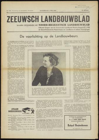 Zeeuwsch landbouwblad ... ZLM land- en tuinbouwblad 1954-05-01
