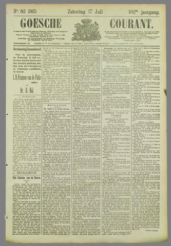 Goessche Courant 1915-07-17