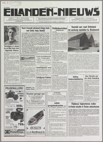 Eilanden-nieuws. Christelijk streekblad op gereformeerde grondslag 1990-09-25