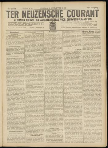 Ter Neuzensche Courant. Algemeen Nieuws- en Advertentieblad voor Zeeuwsch-Vlaanderen / Neuzensche Courant ... (idem) / (Algemeen) nieuws en advertentieblad voor Zeeuwsch-Vlaanderen 1938-08-19