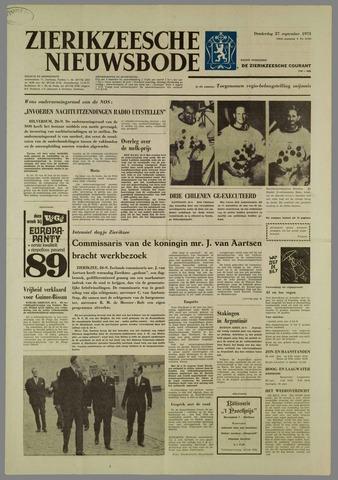 Zierikzeesche Nieuwsbode 1973-09-27
