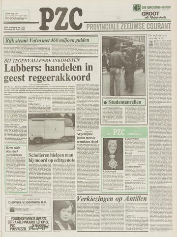 Provinciale Zeeuwse Courant 1983-04-30