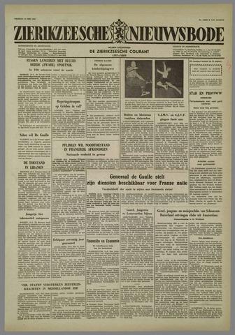 Zierikzeesche Nieuwsbode 1958-05-16