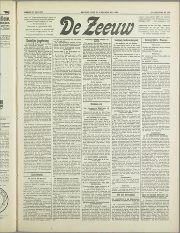 De Zeeuw. Christelijk-historisch nieuwsblad voor Zeeland 1937-07-27