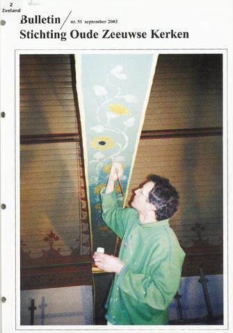 Bulletin Stichting Oude Zeeuwse kerken 2003-09-01