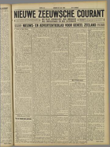 Nieuwe Zeeuwsche Courant 1926-07-20