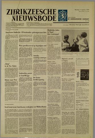 Zierikzeesche Nieuwsbode 1970-08-03