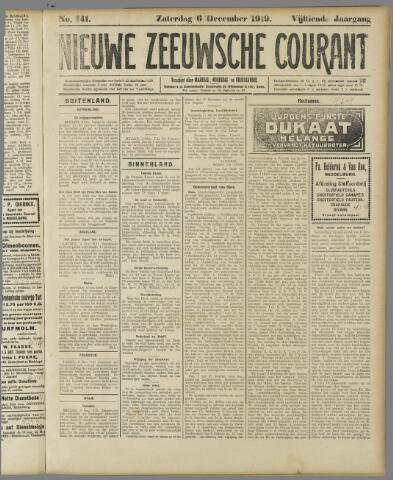 Nieuwe Zeeuwsche Courant 1919-12-06