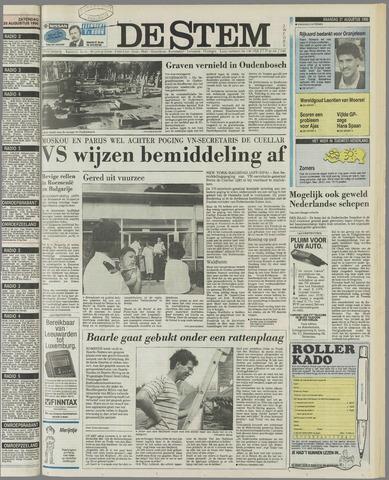 de Stem 1990-08-27