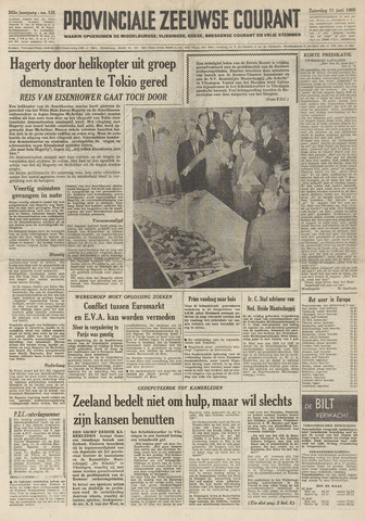 Provinciale Zeeuwse Courant 1960-06-11
