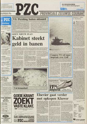 Provinciale Zeeuwse Courant 1987-08-07
