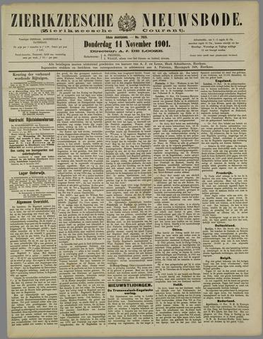 Zierikzeesche Nieuwsbode 1901-11-14