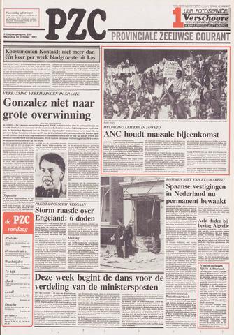 Provinciale Zeeuwse Courant 1989-10-30