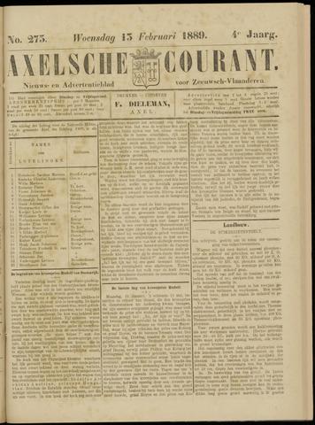 Axelsche Courant 1889-02-13