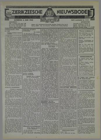 Zierikzeesche Nieuwsbode 1942-06-06