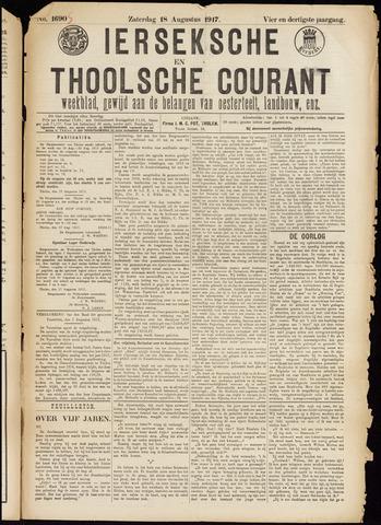 Ierseksche en Thoolsche Courant 1917-08-18