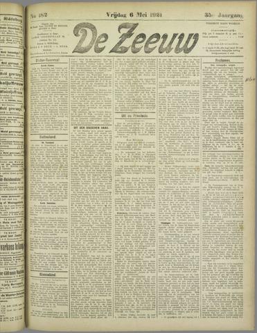 De Zeeuw. Christelijk-historisch nieuwsblad voor Zeeland 1921-05-06