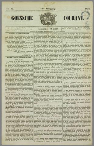 Goessche Courant 1856-07-10