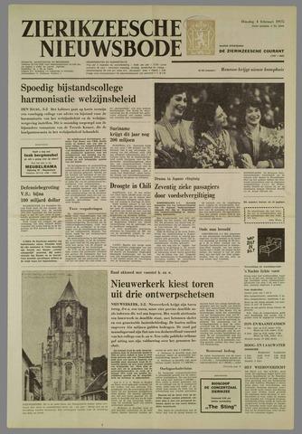 Zierikzeesche Nieuwsbode 1975-02-04