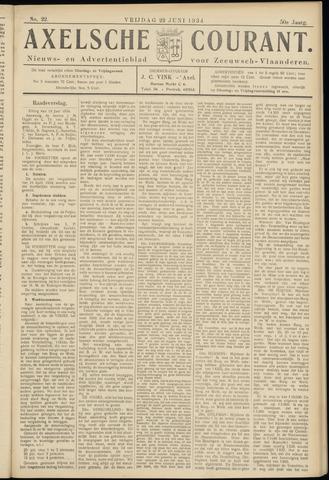 Axelsche Courant 1934-06-22