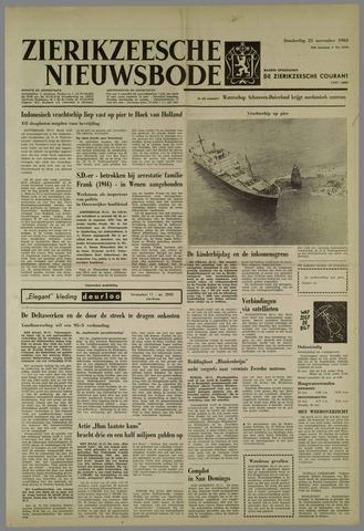 Zierikzeesche Nieuwsbode 1963-11-21