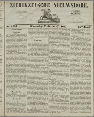 Zierikzeesche Nieuwsbode 1867-01-23
