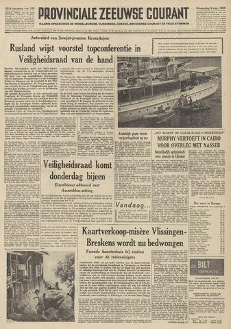 Provinciale Zeeuwse Courant 1958-08-06