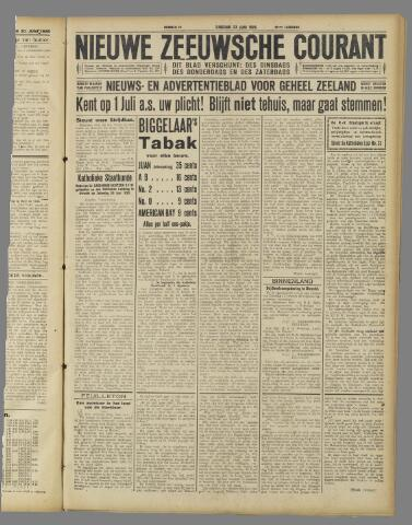 Nieuwe Zeeuwsche Courant 1925-06-23