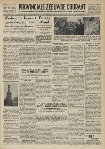 Provinciale Zeeuwse Courant 1950-04-13