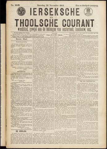 Ierseksche en Thoolsche Courant 1914-11-21