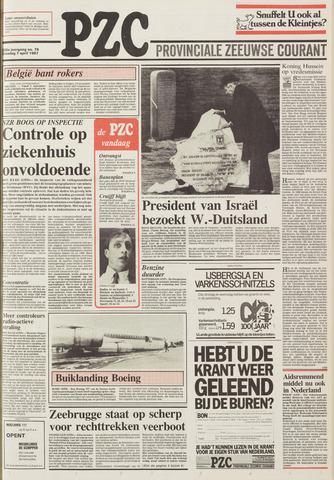 Provinciale Zeeuwse Courant 1987-04-07