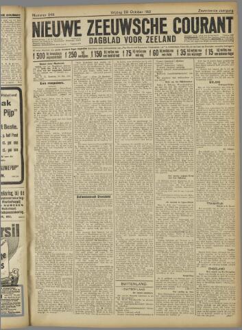 Nieuwe Zeeuwsche Courant 1921-10-28